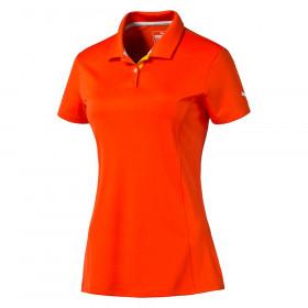 Women's PUMA Pounce Golf Polo Cresting