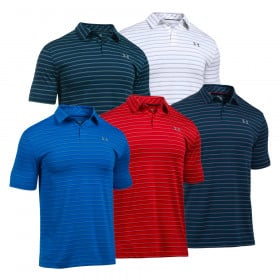 Under Armour UA CoolSwitch Putting Stripe Men's Golf Polo Shirt