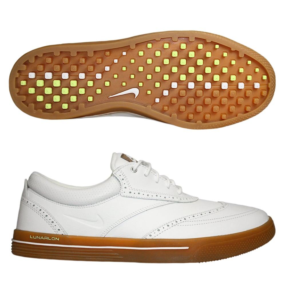 Nike Lunar Swingtip Leather Waterproof Golf Shoes