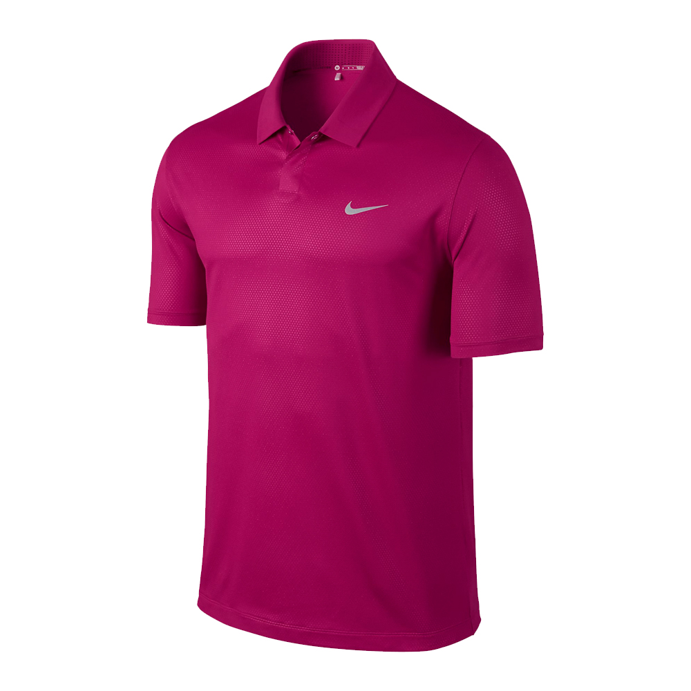New nike tiger woods tw seasonal embossed 2 0 men 39 s golf for Nike golf polo shirts wholesale