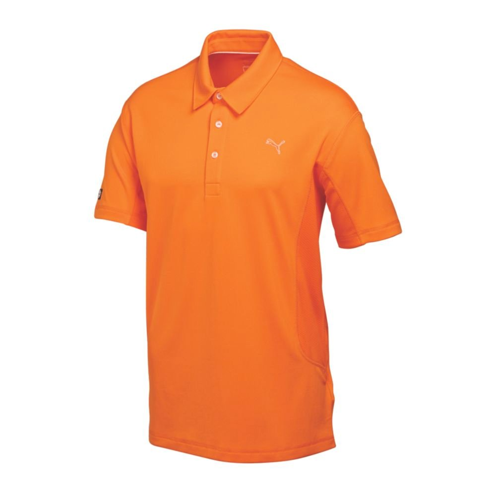 2015 rickie fowler puma tech golf polo shirt w moisture