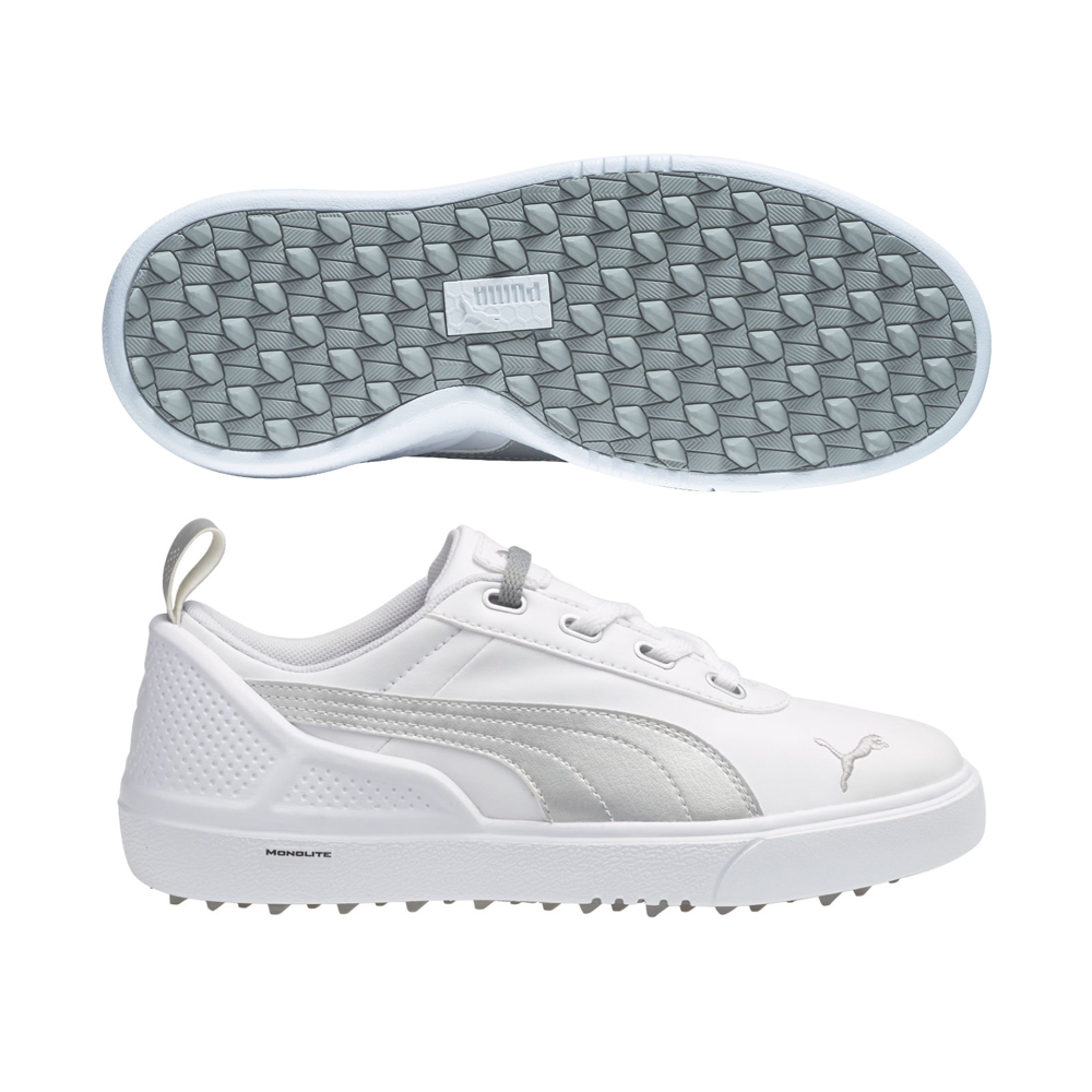 Details about Youth PUMA Monolite Mini Spikeless Golf Shoes GREAT FOR  SCHOOL OR THE COURSE 796273d5b