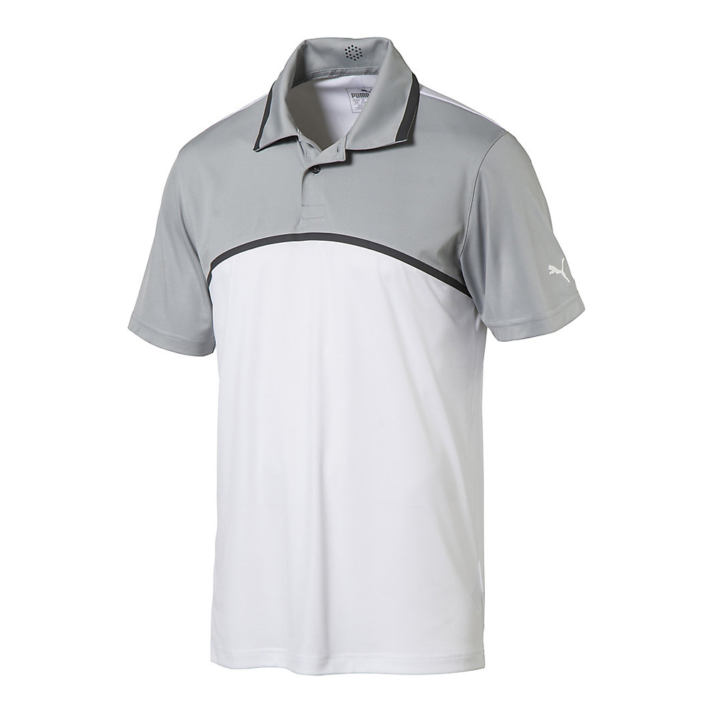 New-PUMA-Tailored-Colorblock-Golf-Polo-ULTRALIGHTWEIGHT-Pick-Shirt thumbnail 2
