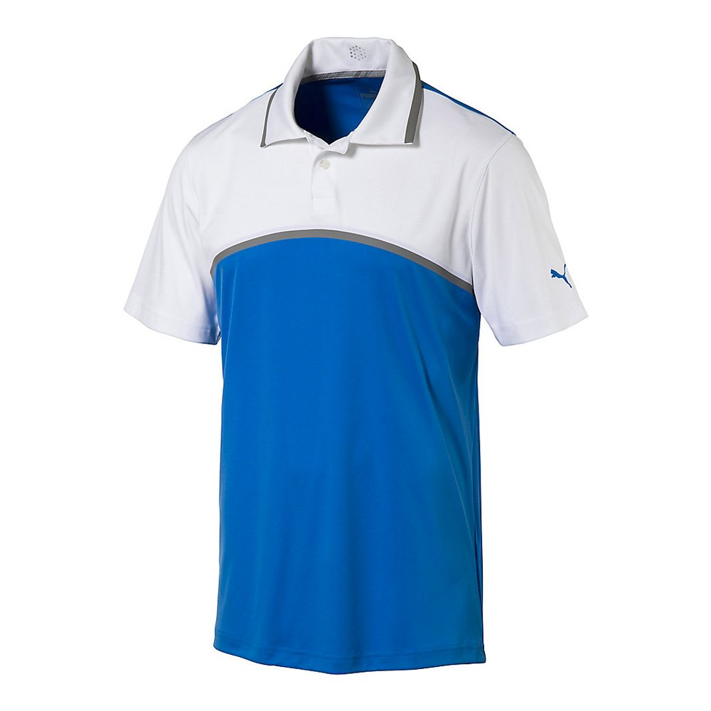 New-PUMA-Tailored-Colorblock-Golf-Polo-ULTRALIGHTWEIGHT-Pick-Shirt thumbnail 3