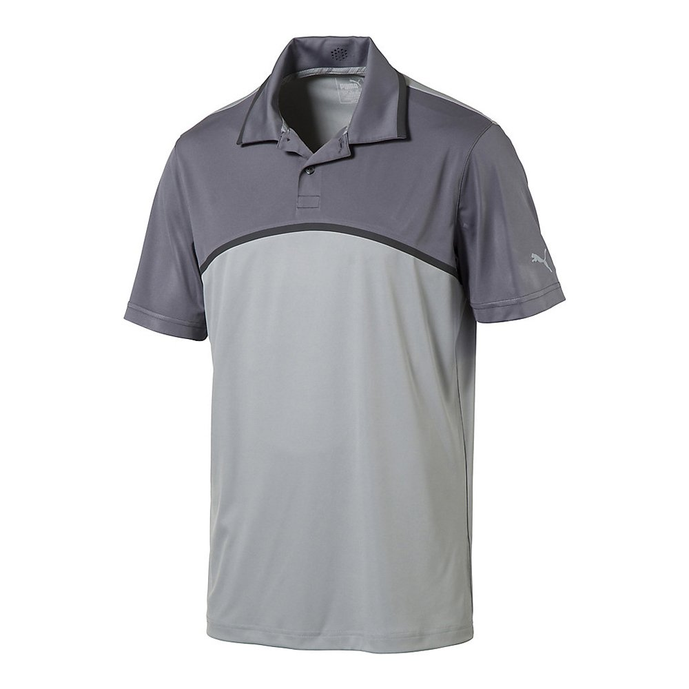 New-PUMA-Tailored-Colorblock-Golf-Polo-ULTRALIGHTWEIGHT-Pick-Shirt thumbnail 4