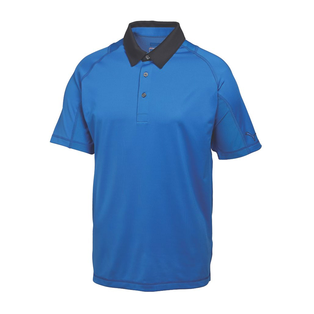 new rickie fowler puma titan tour polo cresting golf shirt