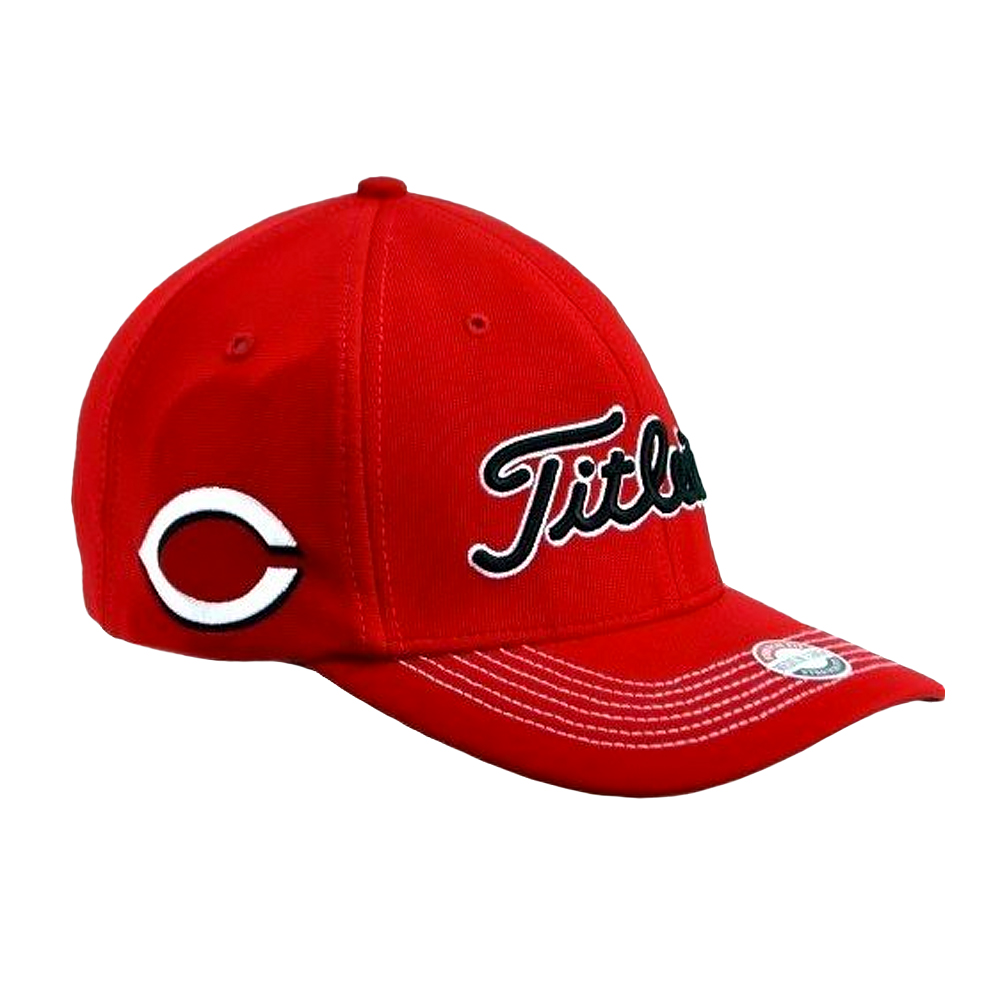 d4c1998c63e Titleist Cincinnati Reds Nr Fitted MLB Hat Size Large xl Bench Rose ...