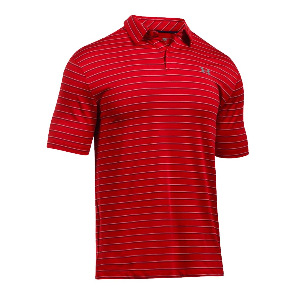 New under armour ua coolswitch putting stripe men 39 s golf for Under armor polo shirts