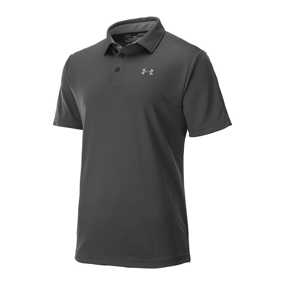 New under armour golf ua tech leaderboard short sleeve for Under armour men s tech polo short sleeve shirt