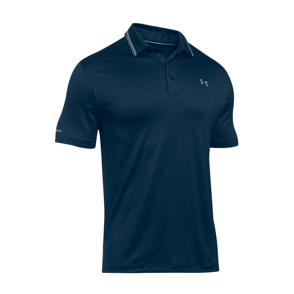 Under armour men 39 s ua performance polo ebay for Academy under armour shirts