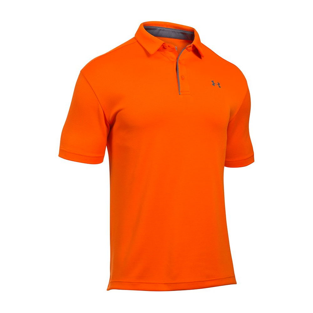 Under armour ua tech men 39 s golf polo shirt ebay for Under armor polo shirts