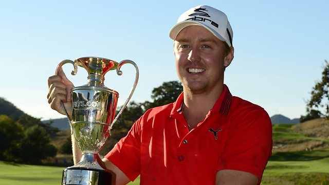Jonas Blixt on the new King Cobra Golf Equipment